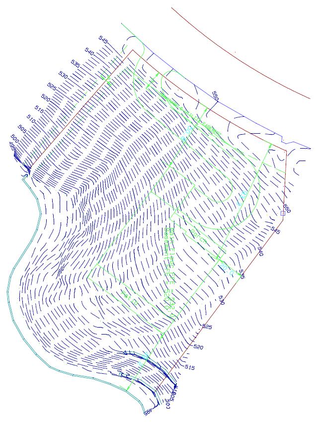 final topo survey map
